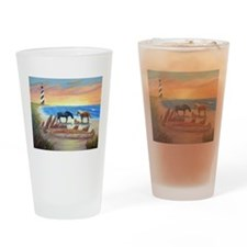 New Day Cape Hatteras Drinking Glass