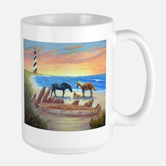 New Day Cape Hatteras Mugs
