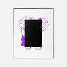 Purple Elephant Picture Frame