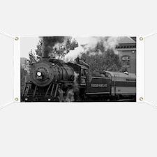 Steam Train Banner
