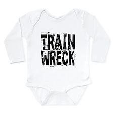 Train Wreck Long Sleeve Infant Bodysuit