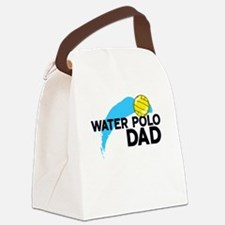 Water Polo Dad Canvas Lunch Bag