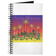 Christmas Candles Journal