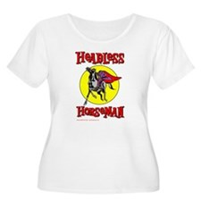 Fun Headless Horseman Women's Plus Size T-Shirt
