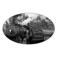 Steam Train Decal