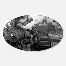 Steam Train Decal