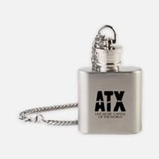 ATX - Music Capital Flask Necklace