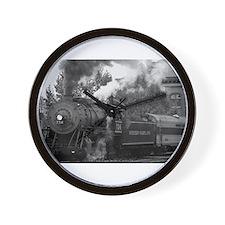 Steam Train Wall Clock