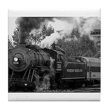 Steam Train Tile Coaster