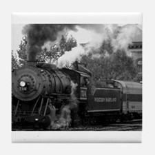 Steam Train Tile Coaster