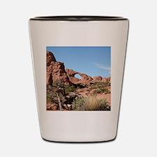 Arches National Park, Utah, USA Shot Glass