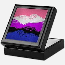 Gender Fluid Ornamental Flag Keepsake Box