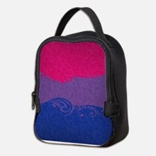 Bisexual Ornamental Flag Neoprene Lunch Bag