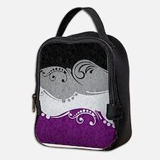 Asexual Ornamental Flag Neoprene Lunch Bag