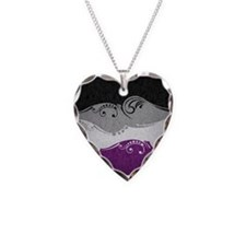 Asexual Ornamental Flag Necklace