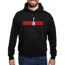 Austin Shockwave Texas Guitar Hoodie