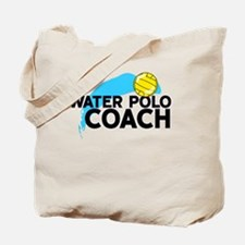 Water Polo Coach Tote Bag