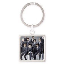 exo fan charms Square Keychain
