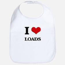 I Love Loads Bib