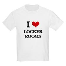 I Love Locker Rooms T-Shirt