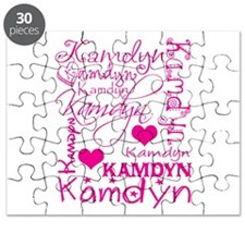 Cute Girl name Puzzle