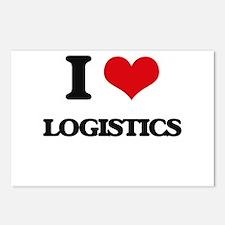 I Love Logistics Postcards (Package of 8)