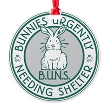 Buns Logo (green) Ornament