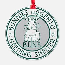 Buns Logo (green) Ornament
