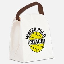 Water Polo Coach Canvas Lunch Bag