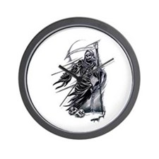 Cute Grim reaper Wall Clock