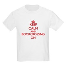 Keep calm and Bookcrossing ON T-Shirt