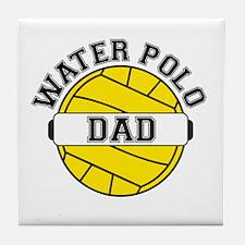 Water Polo Dad Tile Coaster