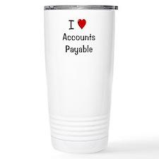 Cute Accounting Travel Mug