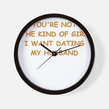 dating Wall Clock