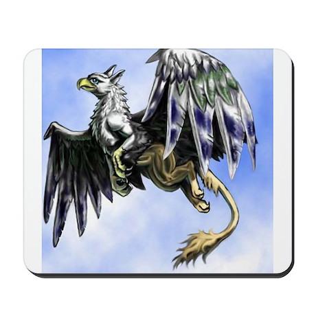 "Dreslough's ""Flying Gryphon"" Mousepad"