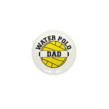 Water Polo Dad Mini Button