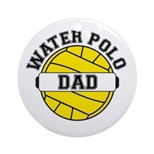 Water Polo Dad Ornament (Round)