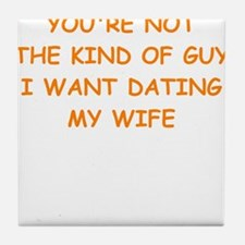 dating Tile Coaster