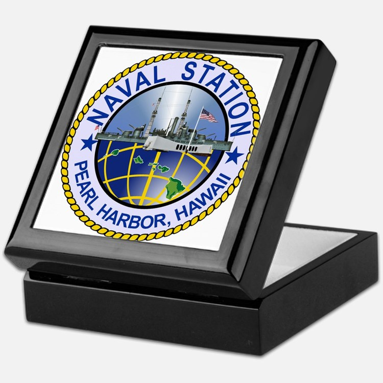 Naval Station Pearl Harbor Keepsake Box