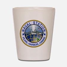 Naval Station Pearl Harbor Shot Glass