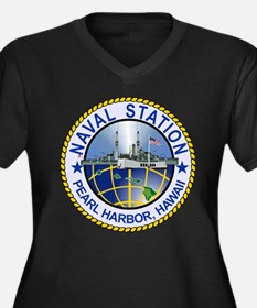 Naval Station Pearl Harbor Plus Size T-Shirt