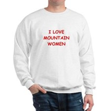 mountain woman Sweatshirt