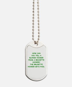 hookers Dog Tags