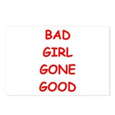 bad girl Postcards (Package of 8)