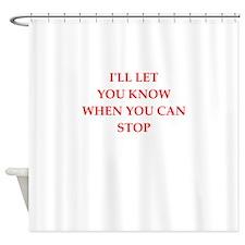 i like it Shower Curtain