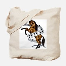 Cute Animal music Tote Bag