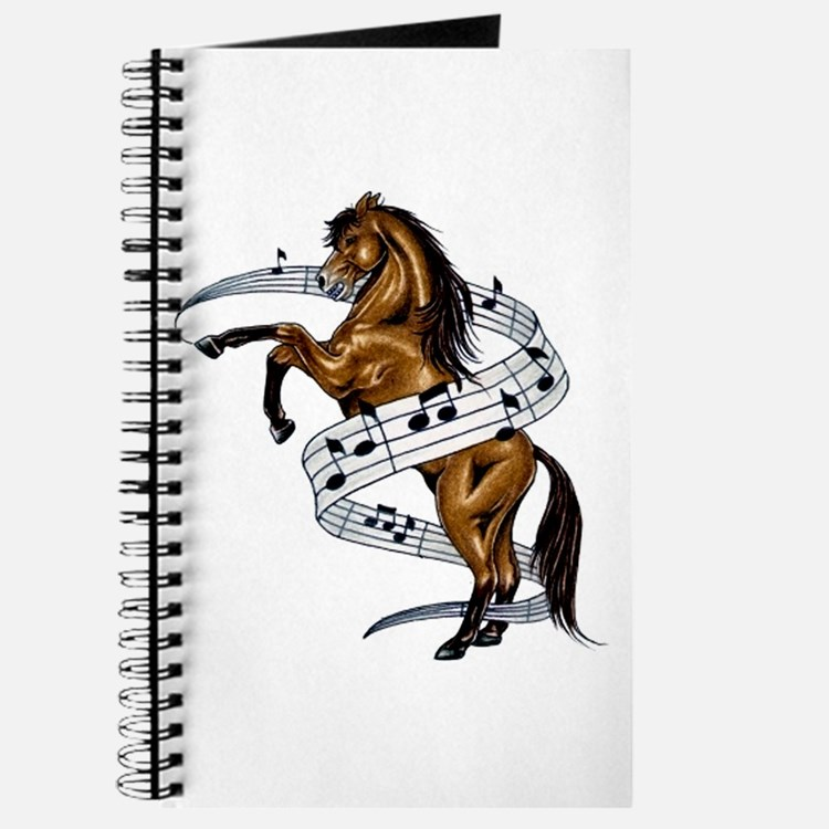 Cute Horse notes Journal