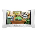 Greatest Feline Lawyer: Fluffy Cohen, Pillow Case
