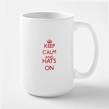 Keep calm and Hats ON Mugs