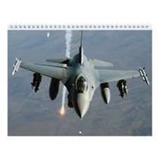 F-16 Fighting Falcon Wall Calendar